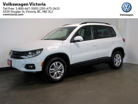 Certified Pre-Owned 2014 Volkswagen Tiguan Trendline 6sp at Tip 4M
