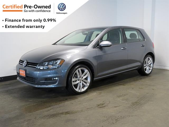 Certified Pre-Owned 2017 Volkswagen Golf 5-Dr 1.8T Highline 6sp at w/Tip