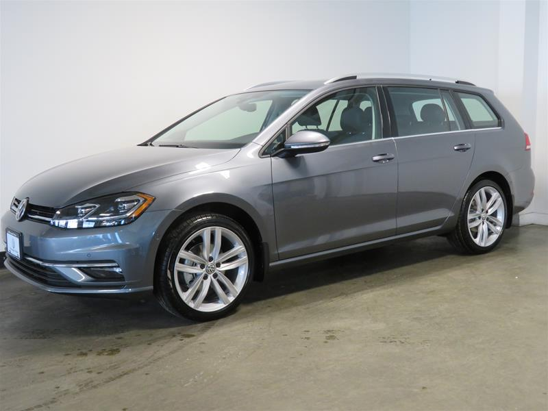 New 2019 Volkswagen Golf Sportwagen 1.8T Execline DSG 6sp at w/Tip 4MOTION