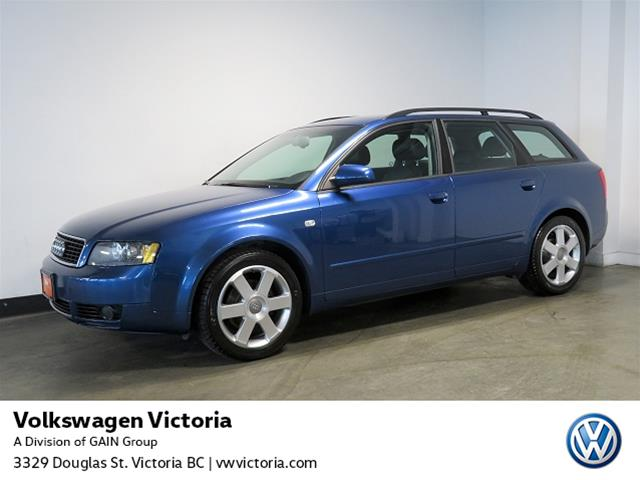 Pre-Owned 2005 Audi A4 1.8T Wgn at Multitronic FrTrk