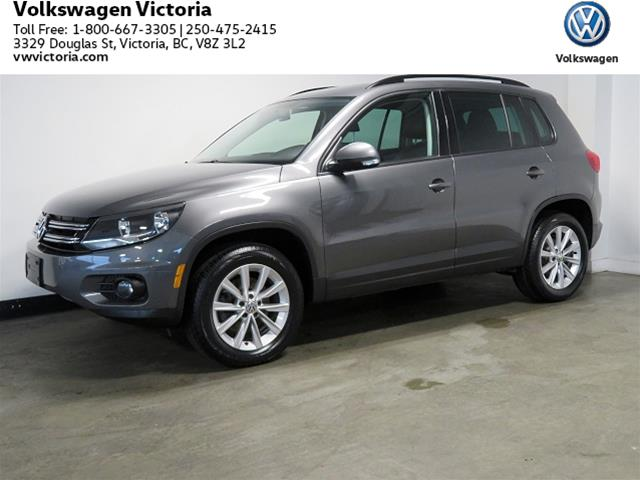 Certified Pre-Owned 2014 Volkswagen Tiguan Comfortline 6sp at Tip 4M