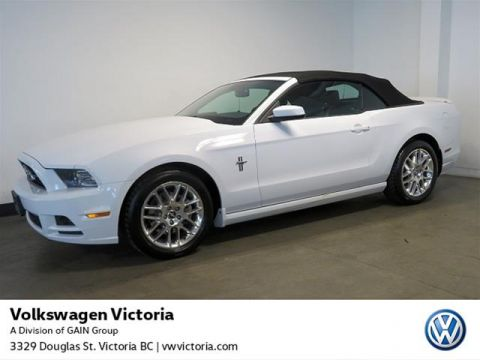 Pre-Owned 2014 Ford Mustang Convertible Premium