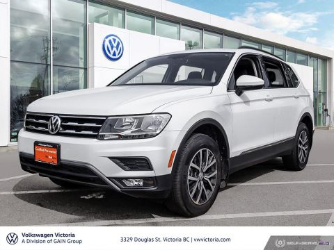 Certified Pre-Owned 2018 Volkswagen Tiguan Comfortline 2.0T 8sp at w/Tip 4M Crossover