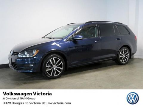 Certified Pre-Owned 2017 Volkswagen Golf Sportwagen 1.8T Cmfrtline DSG 6sp at w/Tip 4MOTION