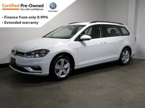 Certified Pre-Owned 2019 Volkswagen Golf Sportwagen 1.8T Cmfrtline DSG 6sp at w/Tip 4MOTION