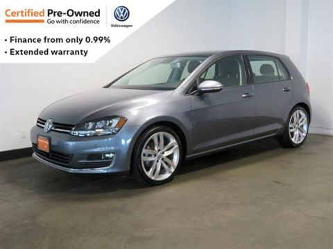Certified Pre-Owned 2016 Volkswagen Golf 5-Dr 1.8T Highline 6sp at w/Tip