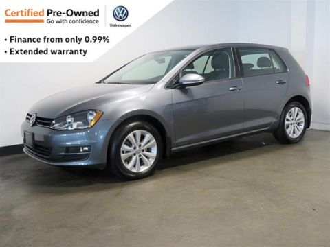 Certified Pre-Owned 2017 Volkswagen Golf 5-Dr 1.8T Comfortline 6sp at w/Tip