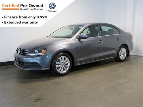 Certified Pre-Owned 2017 Volkswagen Jetta Wolfsburg Edition 1.4T 5sp