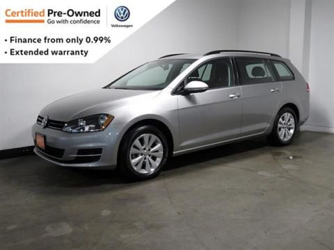 Certified Pre-Owned 2016 Volkswagen Golf Sportwagon 1.8T Trendline 6sp at w/Tip